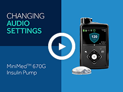 MiniMed 670G insulin pump Display Options