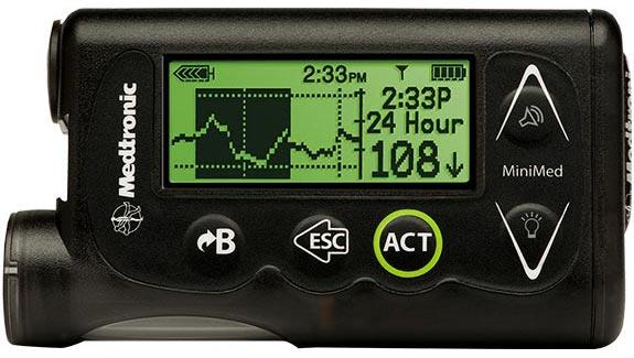bomba medtronic para diabetes 723