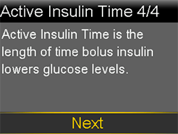 Active Insulin Time