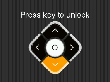 Unlock screen