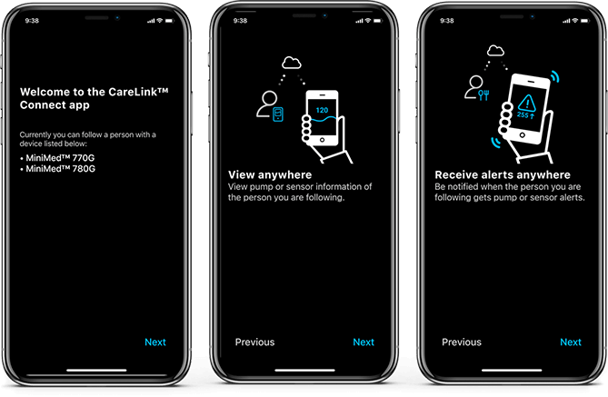 CareLink Connect App Start-up