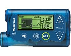 MiniMed 530G insulin pump