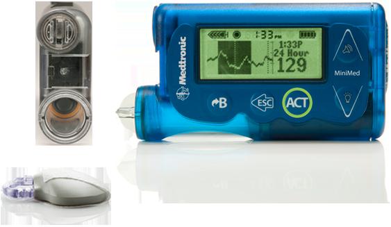 MiniMed 530G Insulin Pump | Diabetes Pump System With SmartGuard