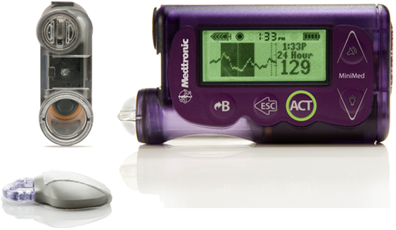 MiniMed 530G Insulin Pump | Diabetes Pump System With