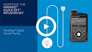 Using the Quick-set & 630G Insulin Pump